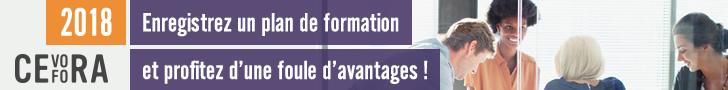 CEFORA - Plan de formation 2018 - FR